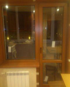 Ламинированные окна в дизайне