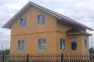 дом из сип-панелей в Ставрополе