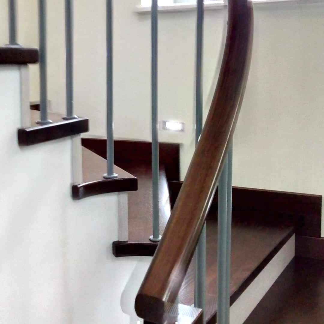 поручни для лестницы на второй этаж