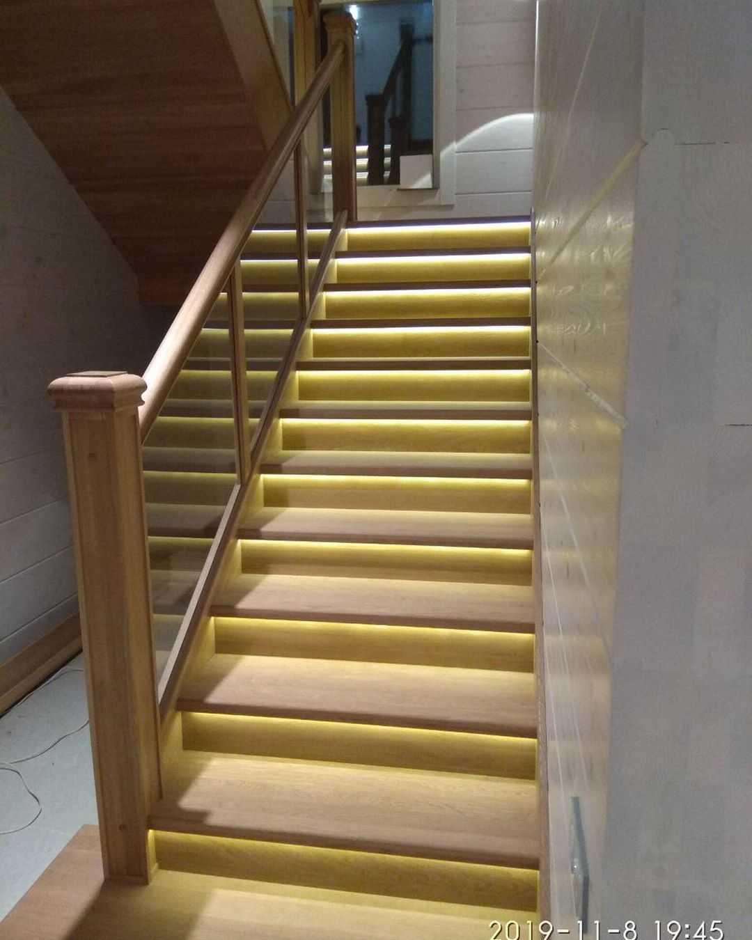 Маршевые лестницы второго этажа