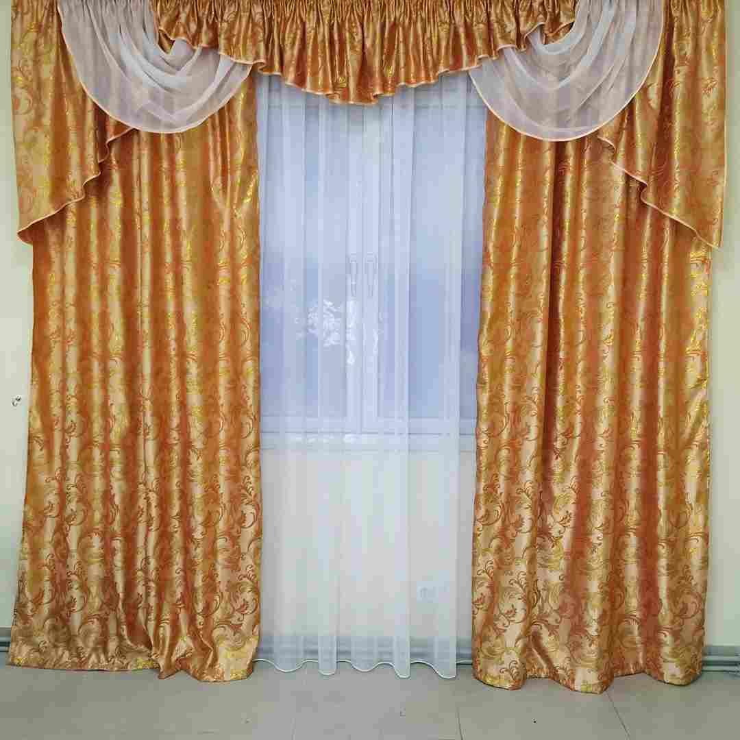 виды штор для оформления спальни