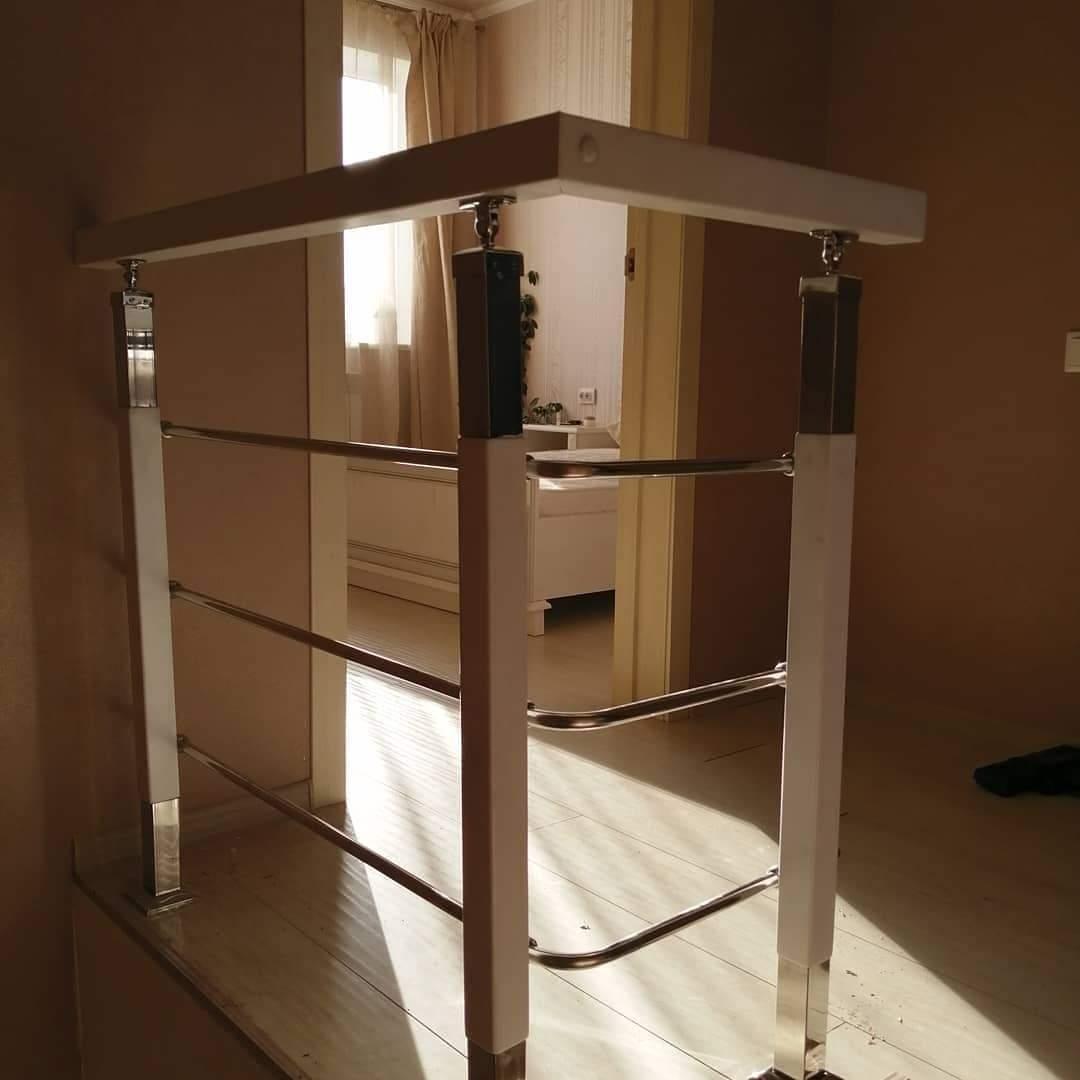металлических ограждения для лестниц