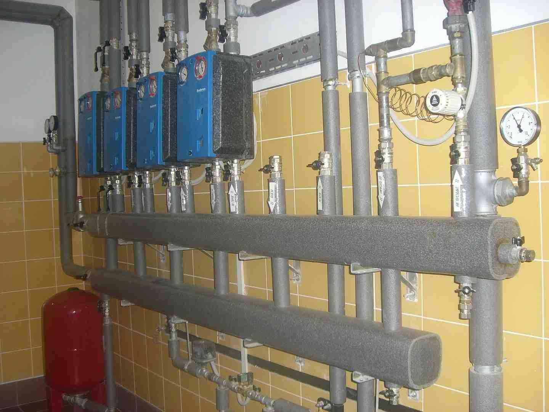 монтаж систем отопления