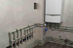 монтаж системы электрического отопления