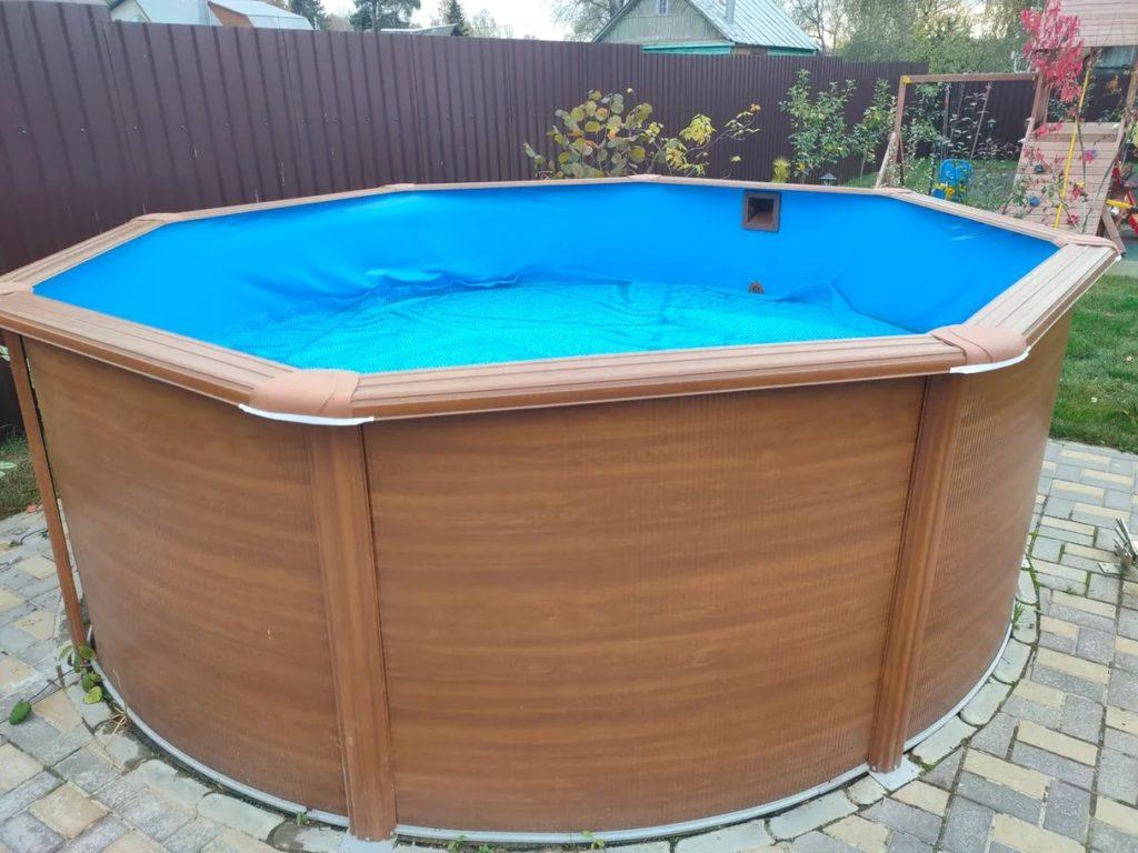 зима бассейн